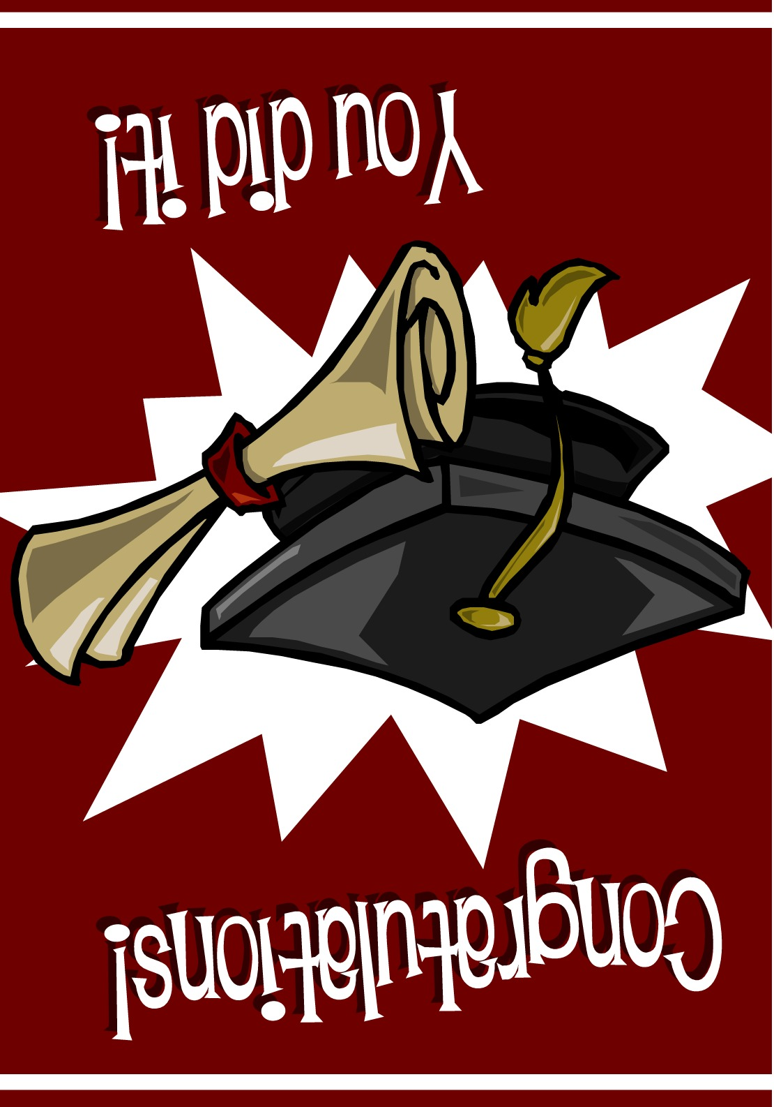 Graduation Cards Templates Graduation Cap And Gown Photo For Cards
